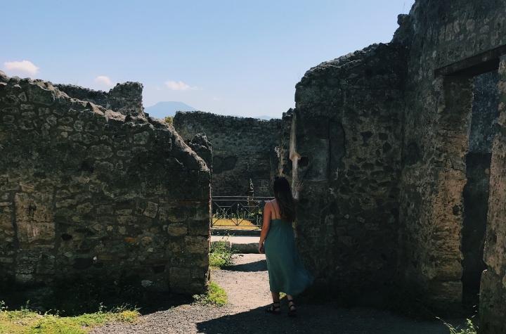 Interrail Italy – Gragnano, Pompeii, Sorrento & MountVesuvius
